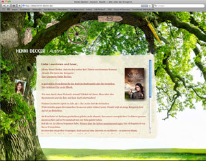 Website Henni Decker