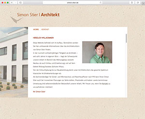 Website Simon Stier